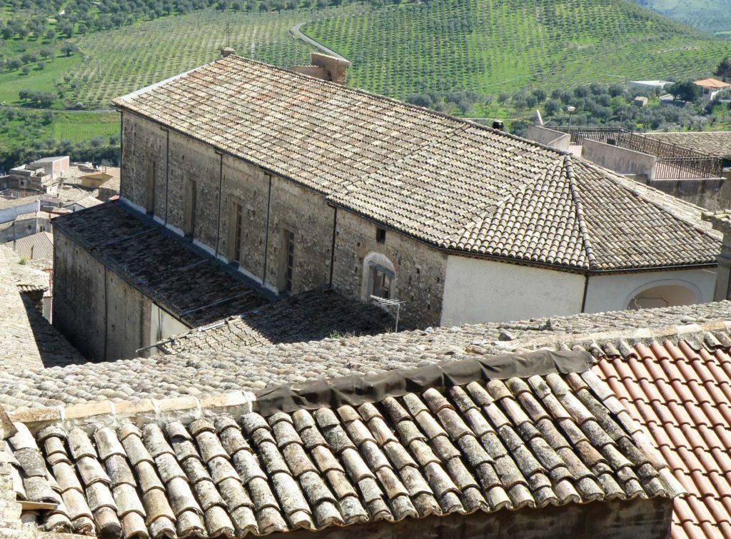 Chiesa San Domenico vista da palazzo De Stefano