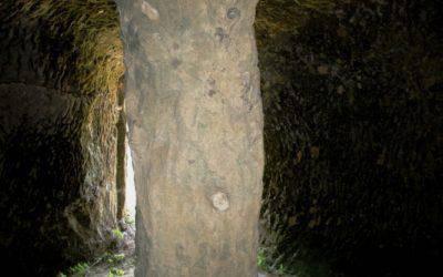 Interno della Grotta dell'Eremita