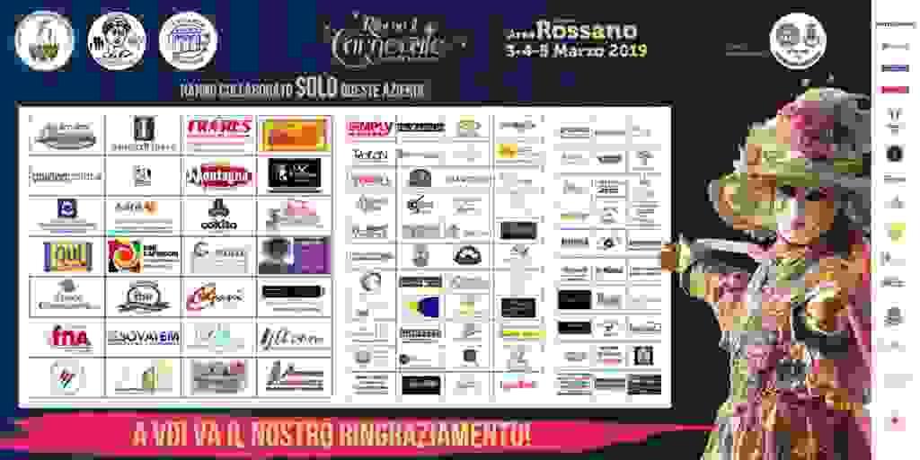 Sponsor Carnevale 2019 - Rossano