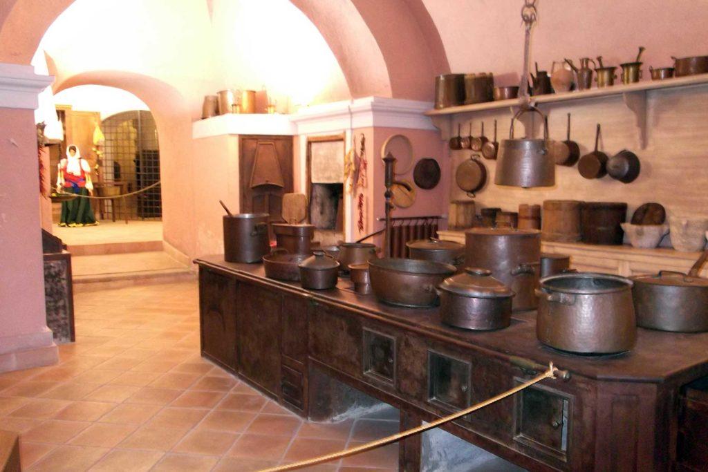 Castello Ducale Corigliano - Cucina