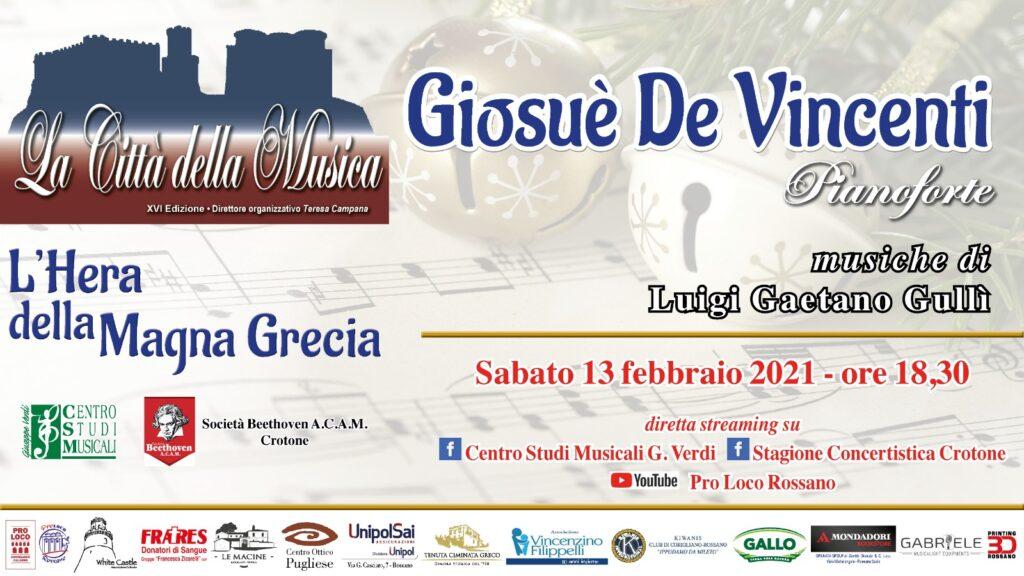 Concerto Del 13 Febbraio 2021