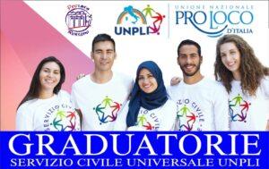 locandina graduatorie SCU